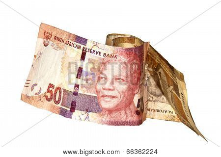 Nelson Mandela Fifty Rand South African Bank Note