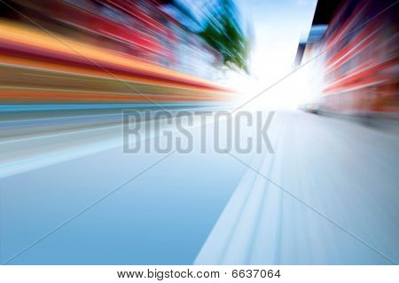 Speed On Road
