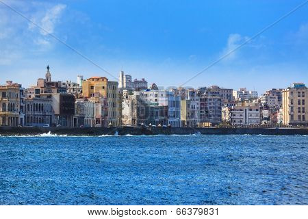 a beautiful sunny day in Havana