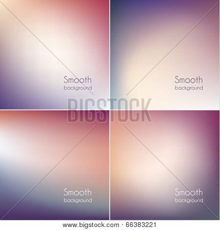 Colorful triangular backgrounds set