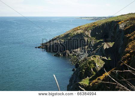 Cliffwalking Between Bray And Greystones, Ireland