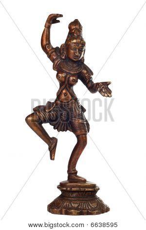 Brass sculpture of Shiva