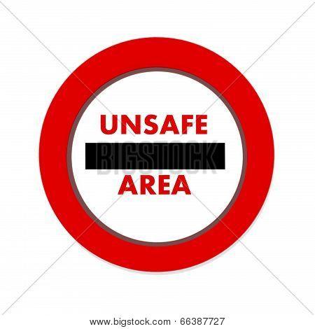 Unsafe, Area Icon