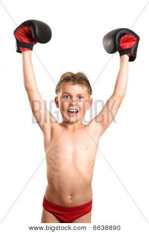 Boxing Champion Victory
