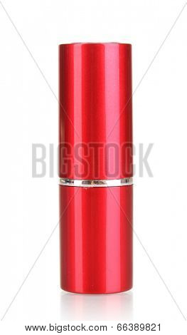 lipstick isolated on white