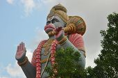pic of hanuman  - Statue of indian god Hanuman or Anjaneya - JPG
