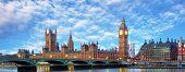 stock photo of westminster bridge  - London  - JPG