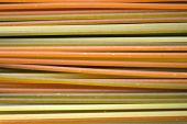 Multicolored Spaghetti poster