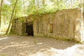 stock photo of world war one  - Bunker of world war 1 in flanders fields - JPG