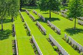 pic of world war one  - New British Cemetery world war 1 flanders fields - JPG