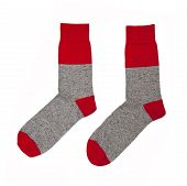 stock photo of welts  - Two socks isolated on the white background - JPG
