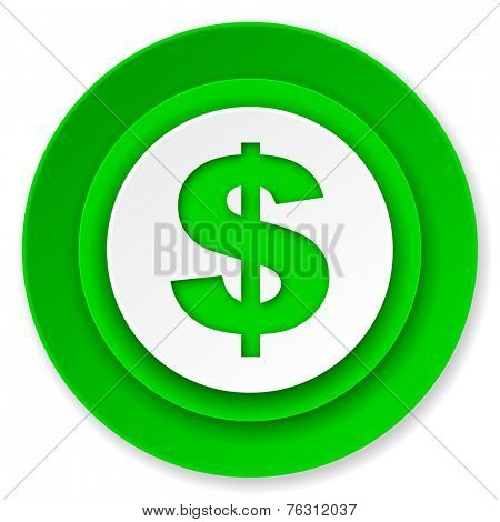 dollar icon, us dollar sign