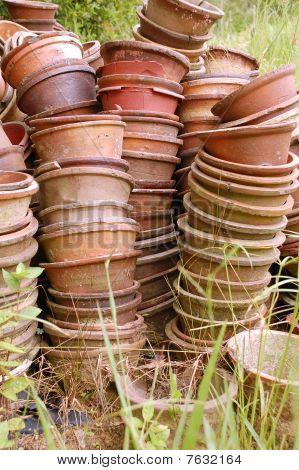 Still Life Old Pots