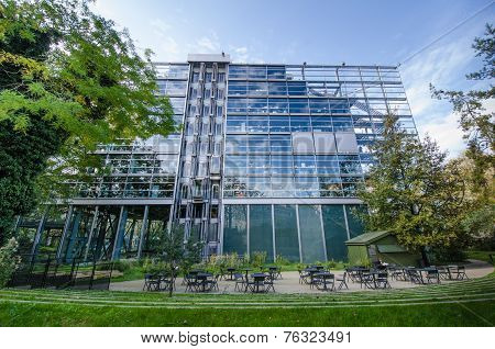 The Cartier Foundation in Paris