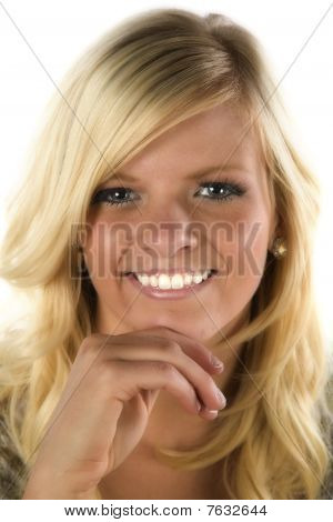 Girl Portrait Blond