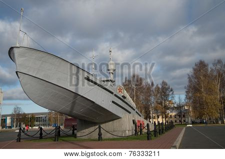 Monument to the sailors trpednyh boats 1