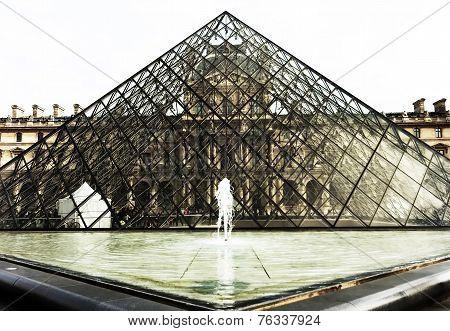The Louvre museum Paris, France