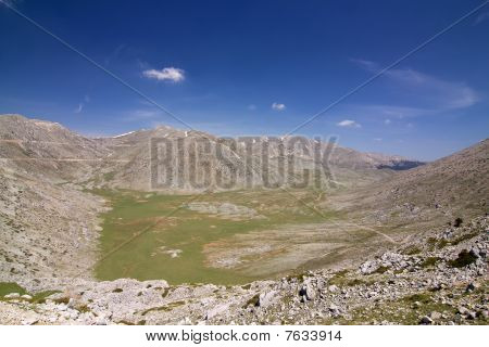 Mountain Giona Alpine Meadow
