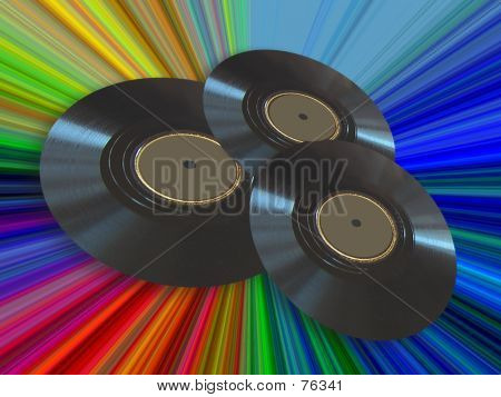 Retro Record Albums