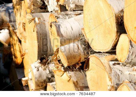 Wood Pile Diagonal