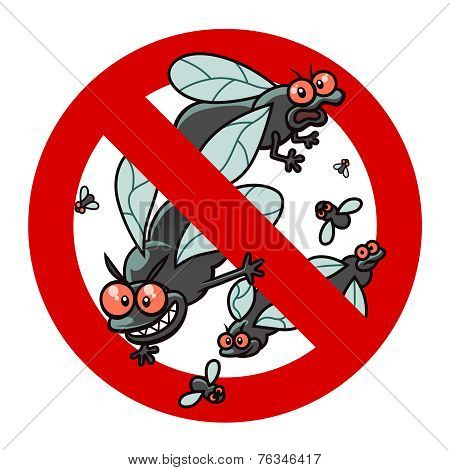 Anti Blackfly Sign