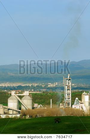 Cement Factory Pollution