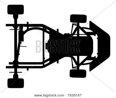 Karting Car Vector 01