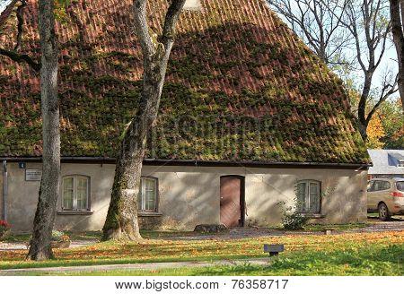 Watchman House. Kuldiga, Latvia