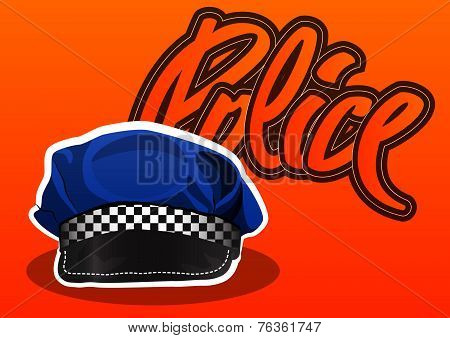 Police Cap, Illustration