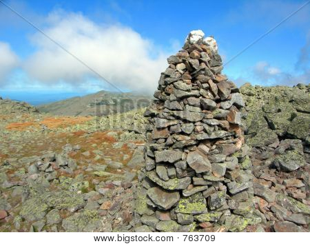 Rock Climber's Cairn, New Hampshire