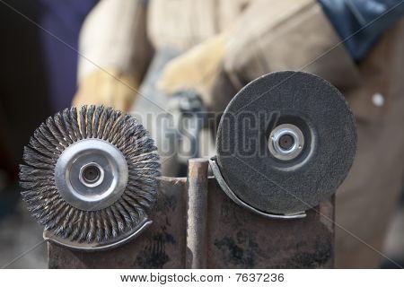 Grinding And Burnishing Wheels