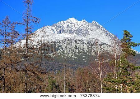 Gerlachovsky Stit - peak In High Tatras, Slovakia