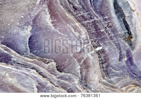 Crystal Surface Of A Stone, Fantastic Abstract Background. Macro
