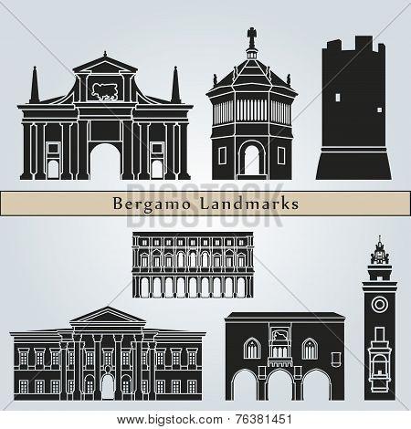 Bergamo Landmarks And Monuments