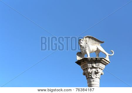 Winged Lion Symbol Of Venice