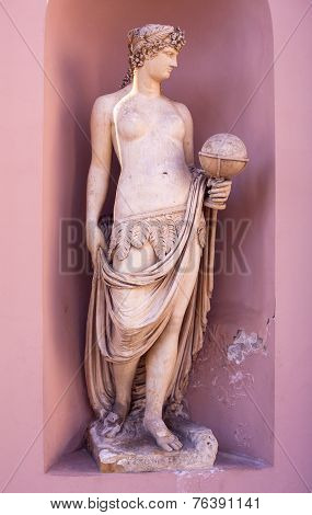 Allegorical Statue