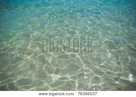 Clear water sea