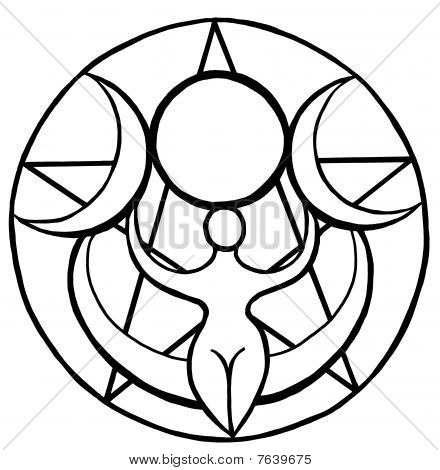 Tripe Moon Goddess
