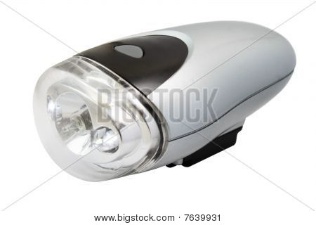 Flashlight for bicycle