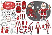 picture of santa claus hat  - Constructor or Santa Claus - JPG