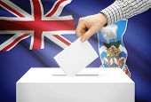 pic of falklands  - Voting concept  - JPG