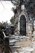 image of grotto  - Lermontovs Grotto - JPG