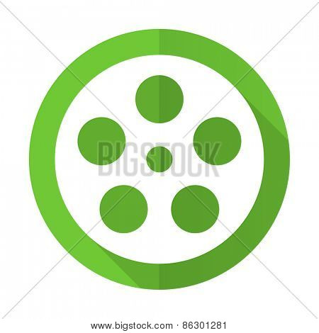 film green flat icon