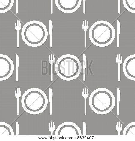 Plate seamless pattern