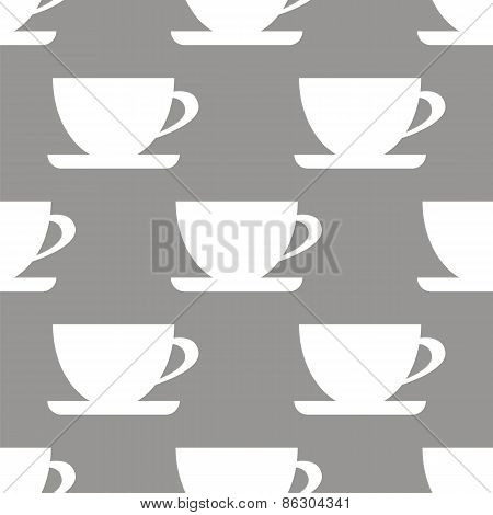 Cup seamless pattern