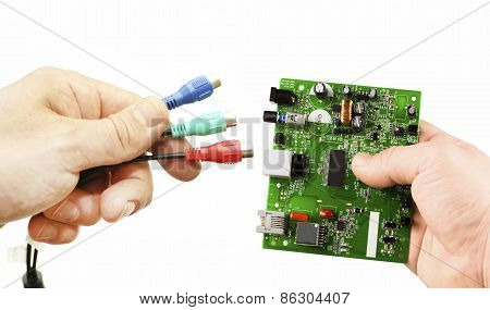 Electronic Microcircuit And Various Adapters