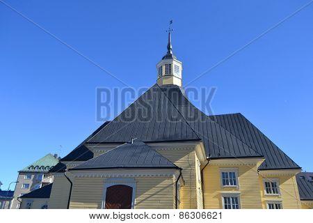 Church Lappee In Lappeenranta.