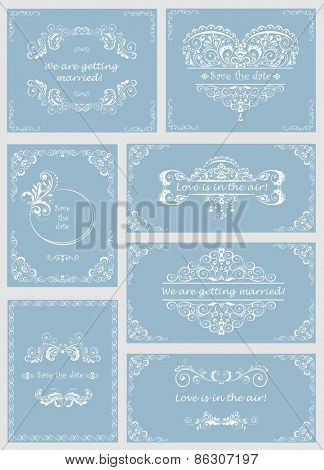Wedding design. Set