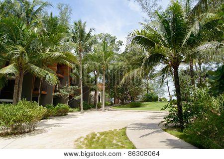 Phuket, Thailand - August 04, 2013: Garden Of Renaissance Resort
