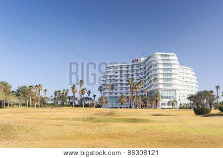 Jeju, Korea - November 12, 2012: View Of Kal Hotel